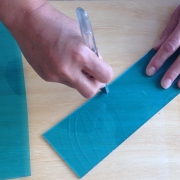 leren glasnijden