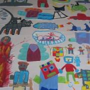 schilderingen kinderen, herkenbare dingen
