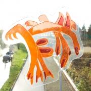 oranje draak