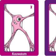 kauwgum kaarten