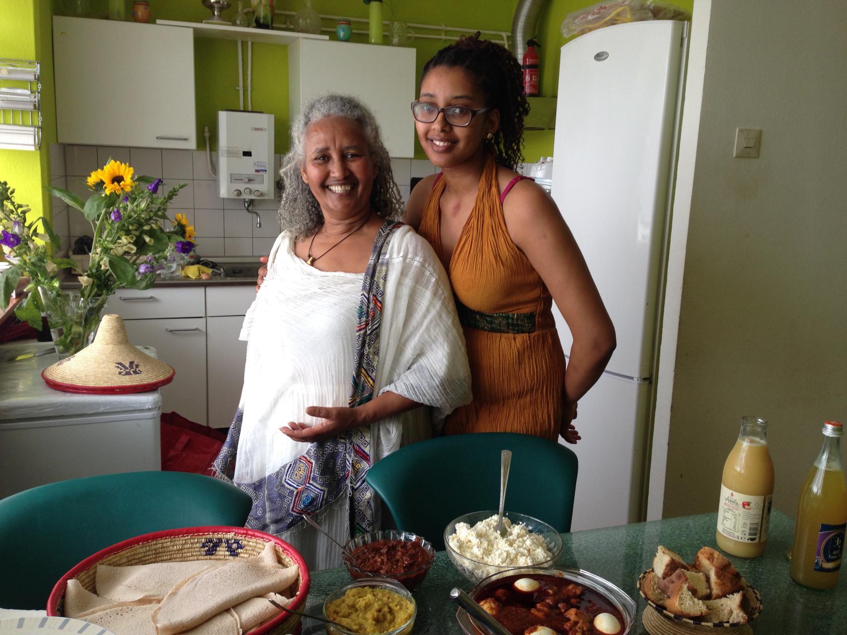 crowdfunding ethiopisch eten kok