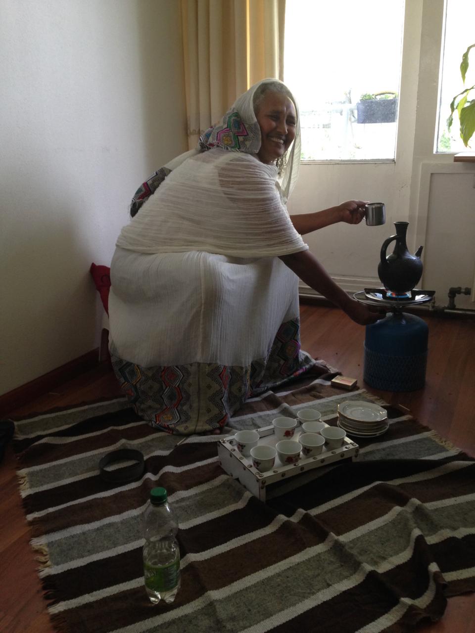 crowdfunding ethiopisch koffieritueel