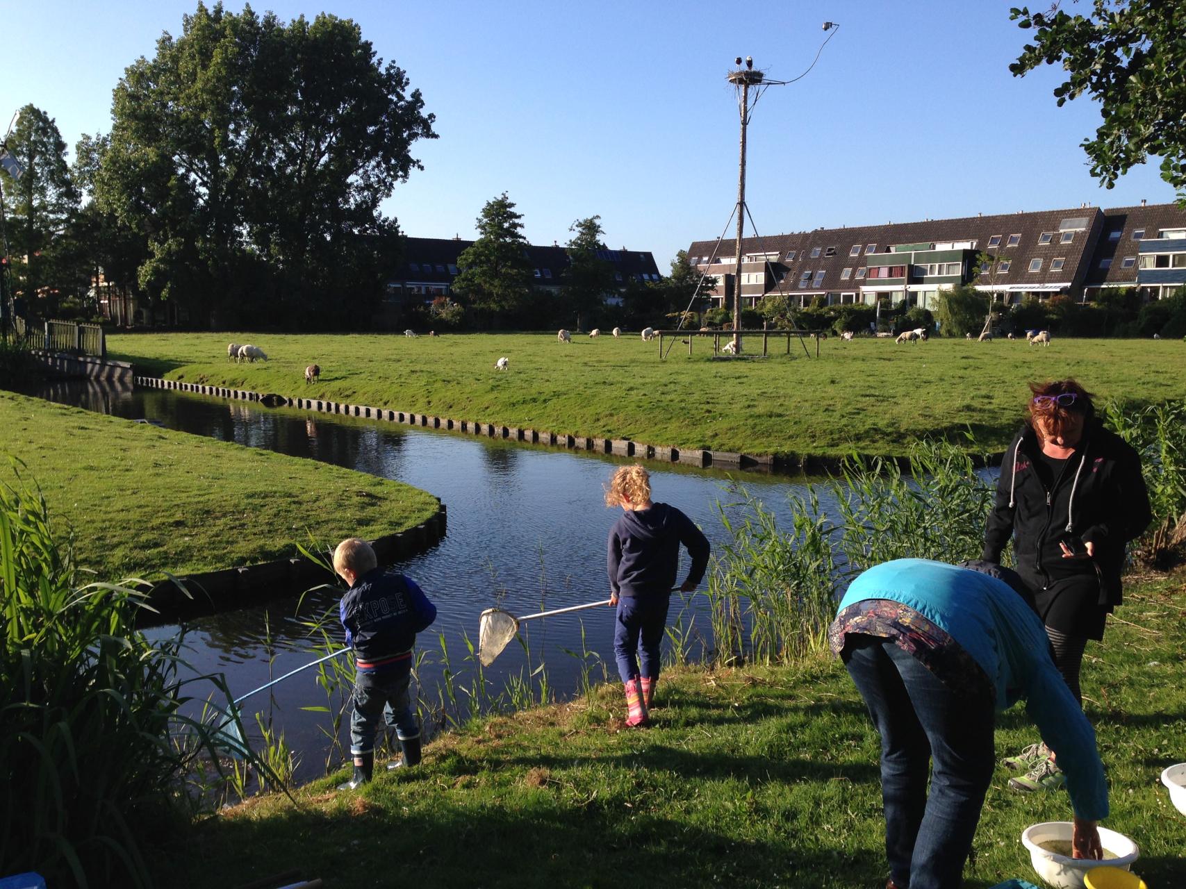 crowdfunding slootje vissen kinderboerderij